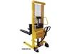 COMBINATION HAND PUMP AND ELECTRIC STACKER