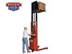 BATTERY POWERED 1000 LB. TO 2000 LB. PALLET STRADDLE & PLATFORM STACKERS
